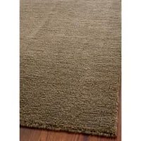 Safavieh Handmade Himalaya Solid Brown Wool Area Rug (8' x 10')