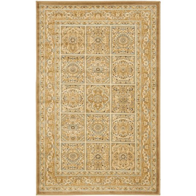 Safavieh Paradise Mahal Beige Viscose Rug (8' x 11' 2 )