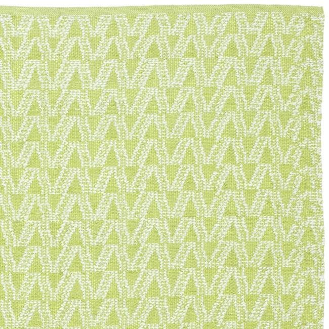Handmade Thom Filicia Ackerman Key Lime Green Rug 3 X 5