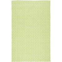 Handmade Thom Filicia Ackerman Key Lime Green Rug - 3' x 5'