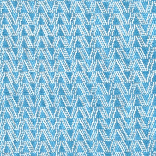 Handmade Thom Filicia Ackerman Summer Blue Rug (3' x 5') - Thumbnail 2