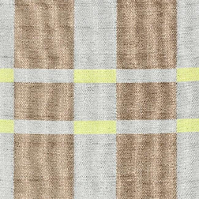 Handmade Thom Filicia Chatam Lawn Green Outdoor Rug (6' x 9')