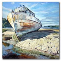 Colleen Proppe 'Inverness Boat' Canvas Art