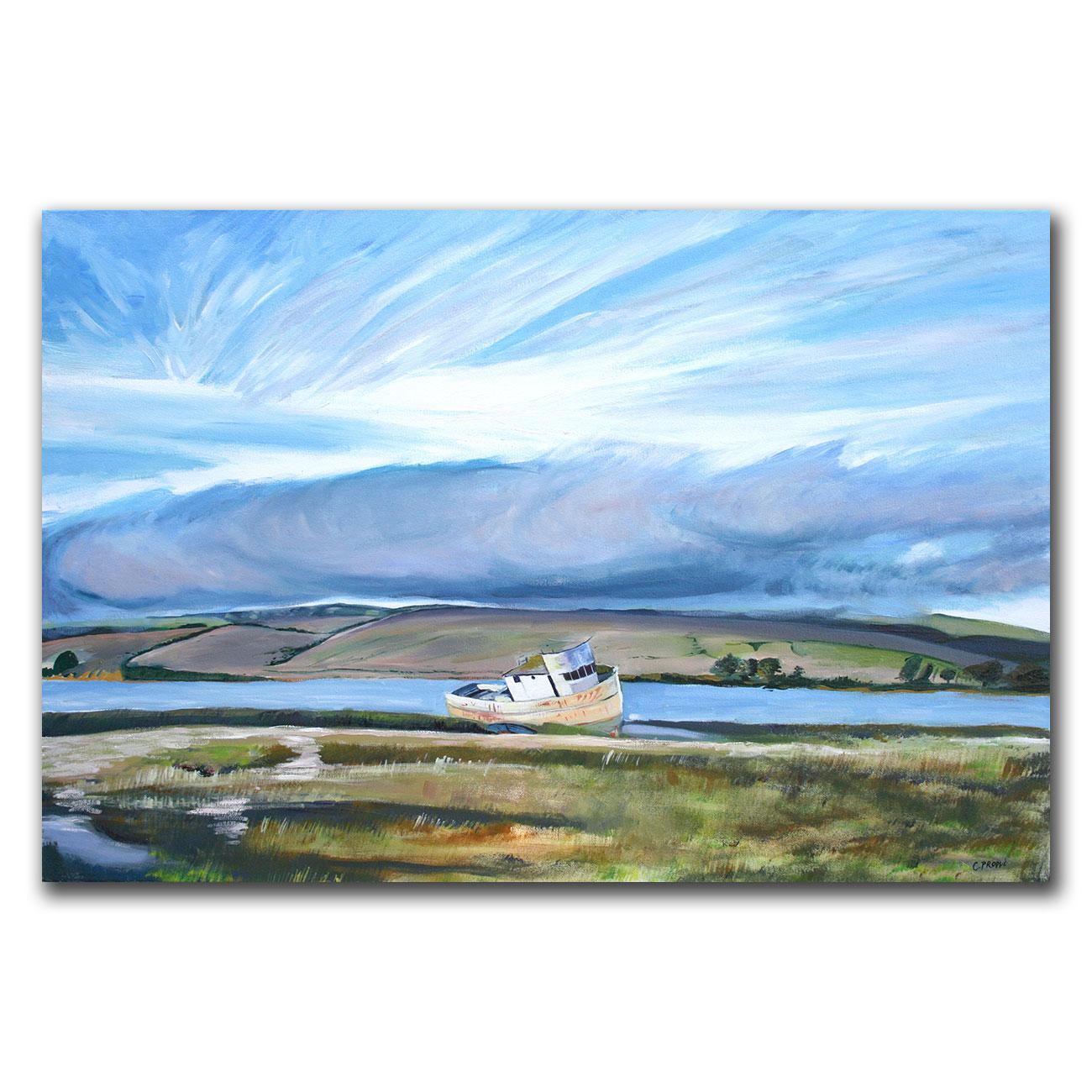 Colleen Proppe 'Inverness Sky' Canvas Art