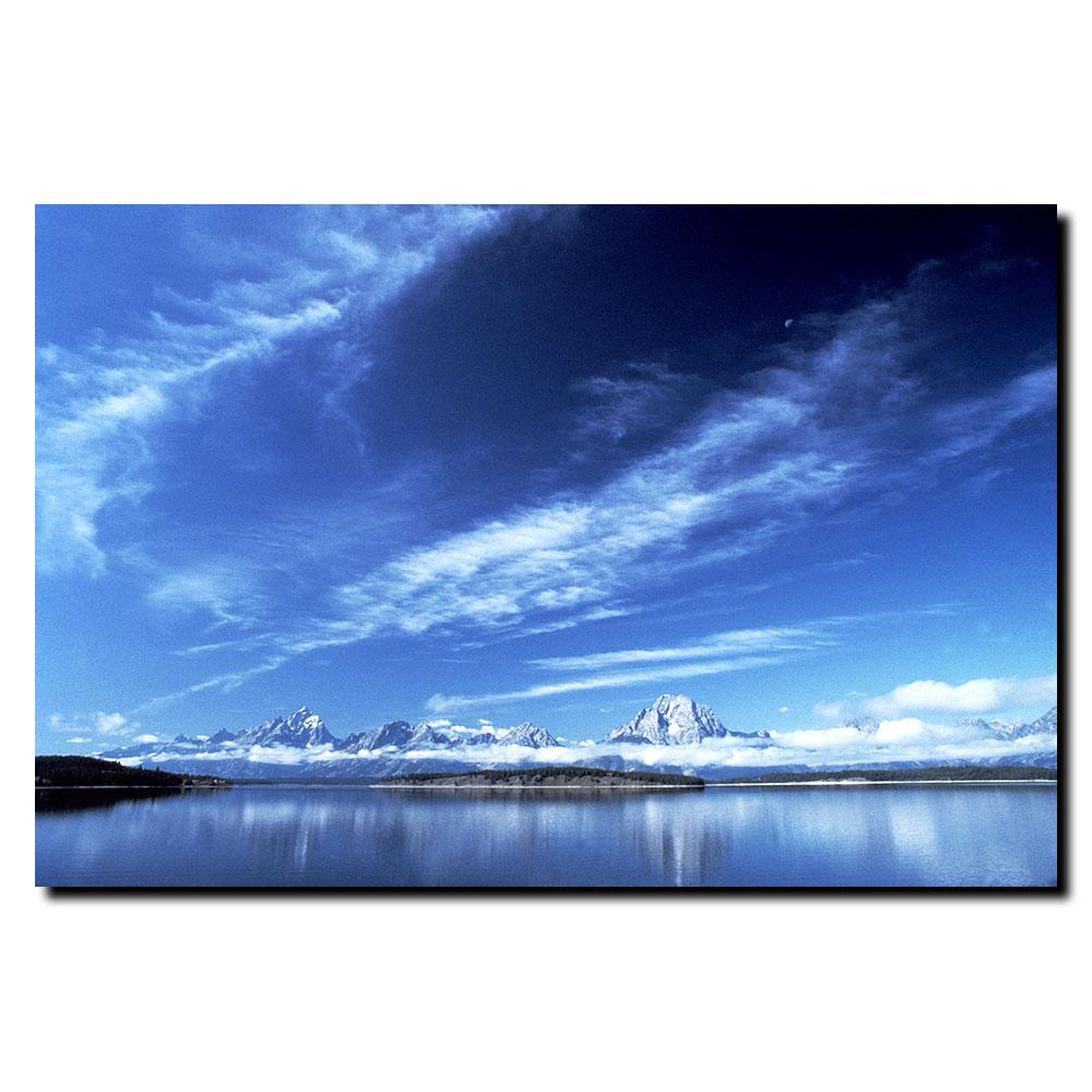 Kurt Shaffer 'A Grand Teton Vista' Canvas Art
