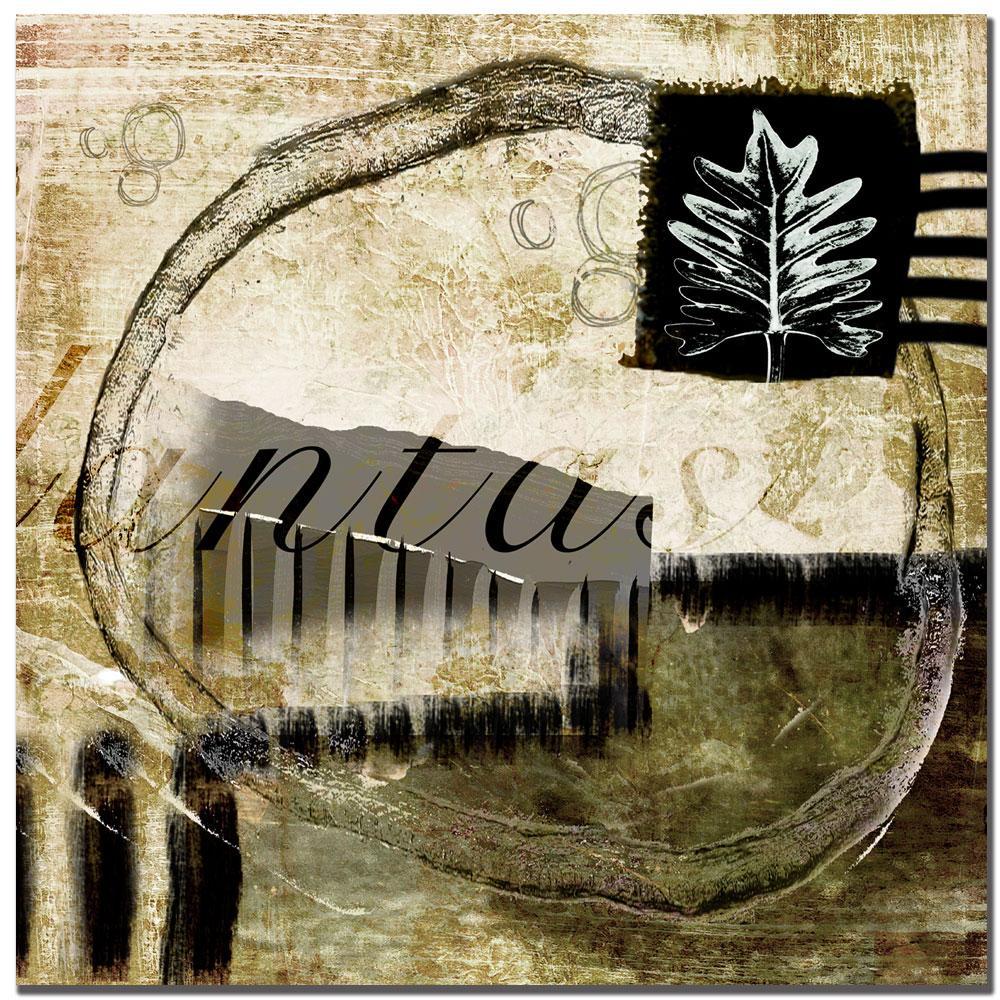 Miguel Paredes 'Planta II' Canvas Art