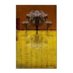 Miguel Paredes 'Tree IV' Canvas Art
