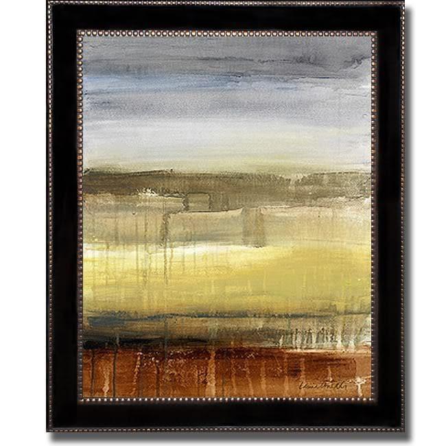Lanie Loreth 'Summer Rain II Detail' Framed Canvas Art