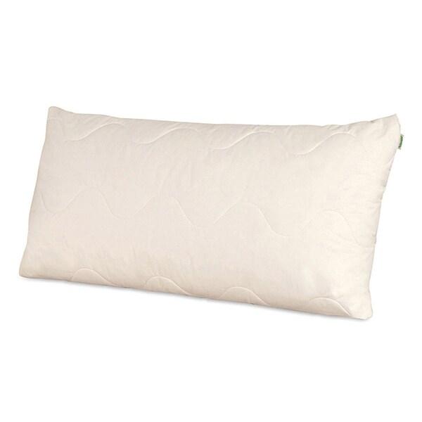 Natura Vibrance Wool Lined Talalay Latex Core Pillow