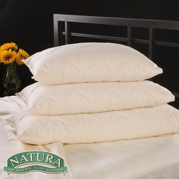 Natura Vibrance Wool Lined Talalay Latex Core Pillow