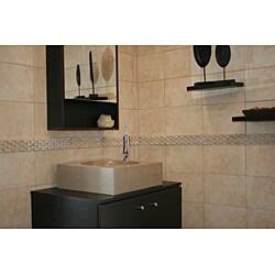 Concrete Cube Beige Sink