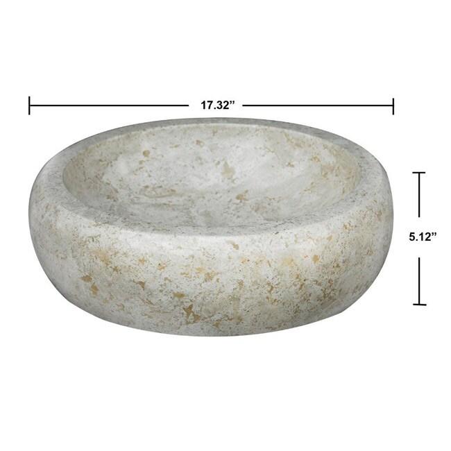 Concrete Round Marble Sink