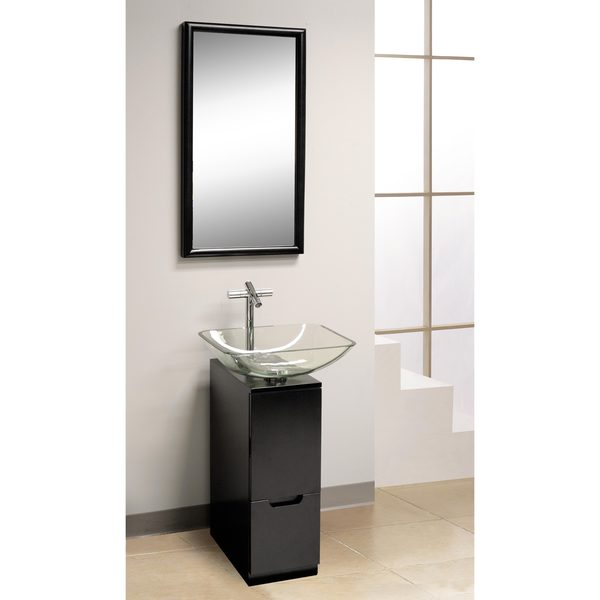 slim kitchen cabinet dreamline modern 10 inch bathroom vanity and mirror free 2320