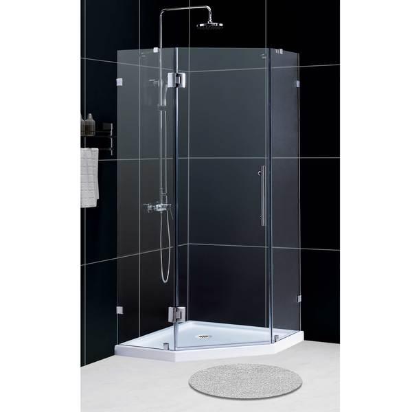 DreamLine Neolux 38x38x73-inch Frameless Hinged Shower Enclosure