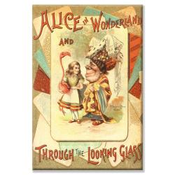 'Alice in Wonderland and Through the Looking Glass' Canvas Art