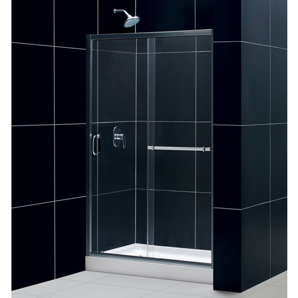 DreamLine Infinity Plus 44-48x72-inch Sliding Shower Door