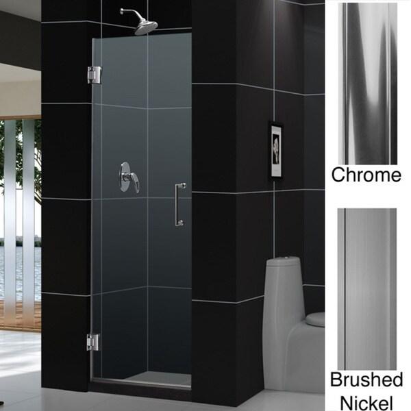 DreamLine Unidoor Shower Doors Frameless 28x72 Shower Door Enclosures