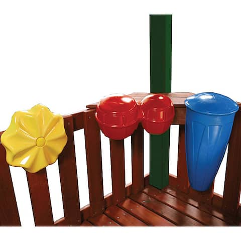 "Swing-N-Slide Outdoor Rhythm Band for Playsets with 3 Instruments - 20.25"" L x 12.5"" W x 13.25"" H"
