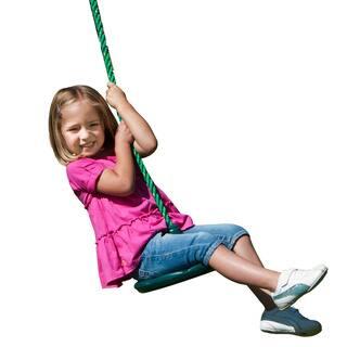 """Swing-N-Slide Shooting Star Disc Swing - 12"""" Diameter"""
