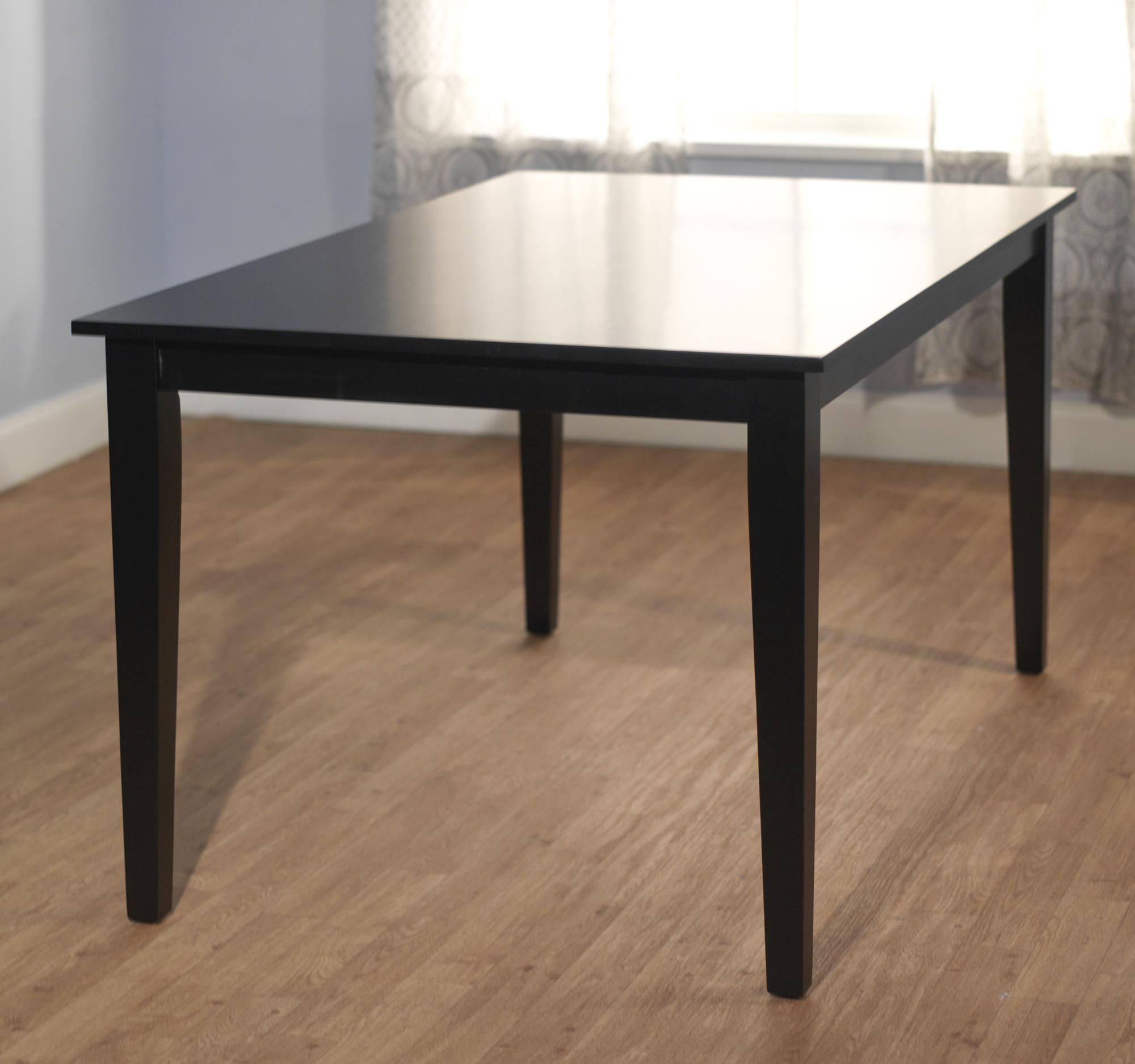 simple living havana carson large wood dining table free
