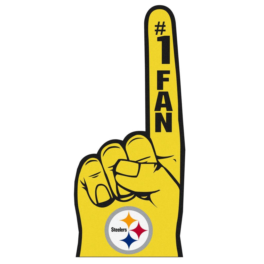 Pittsburgh Steelers #1 Fan Foam Finger - Thumbnail 2