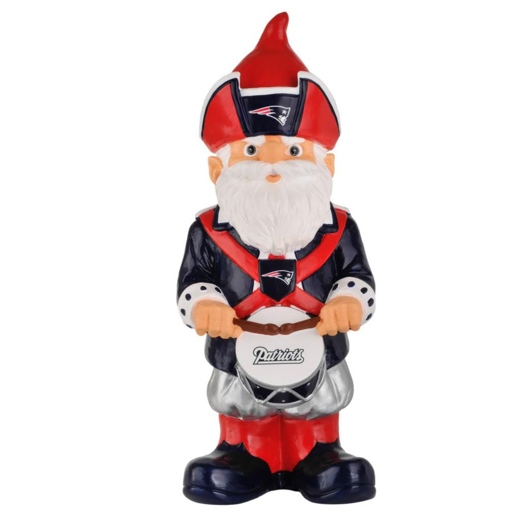 New England Patriots 11-inch Thematic Garden Gnome - Thumbnail 1
