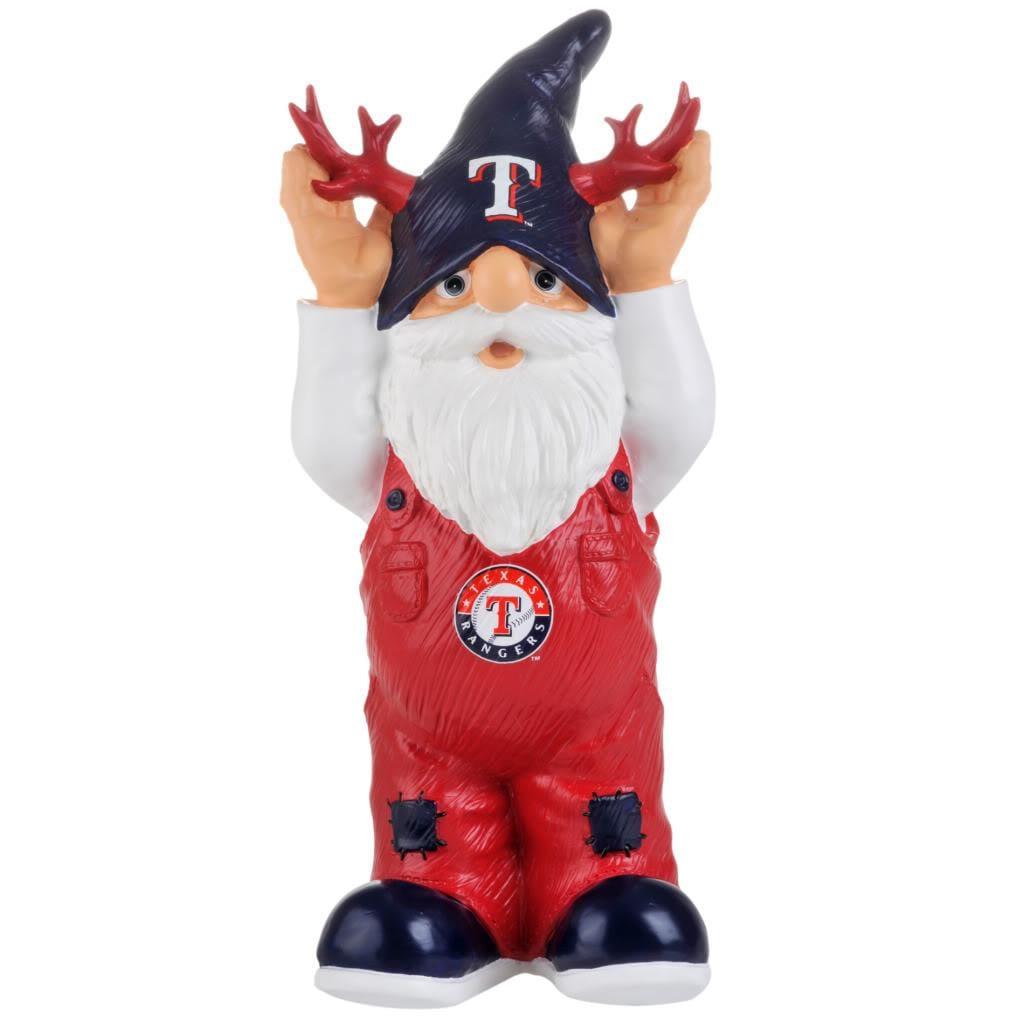 Texas Rangers 11-inch Thematic Garden Gnome - Thumbnail 1