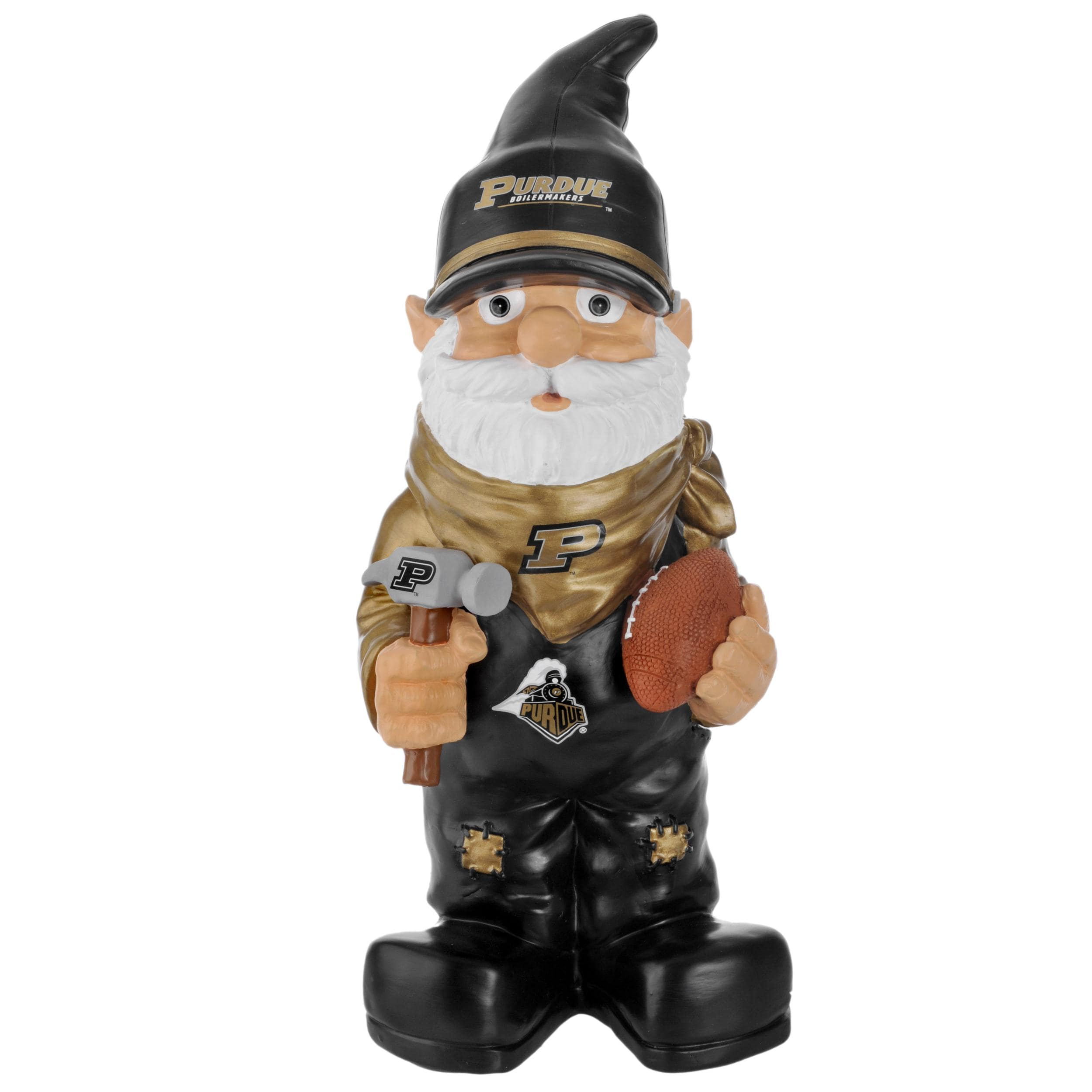 Purdue Boilermakers 11-inch Thematic Garden Gnome - Thumbnail 1