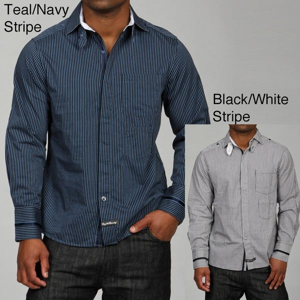 English Laundry Men's Bealey's Woven Shirt