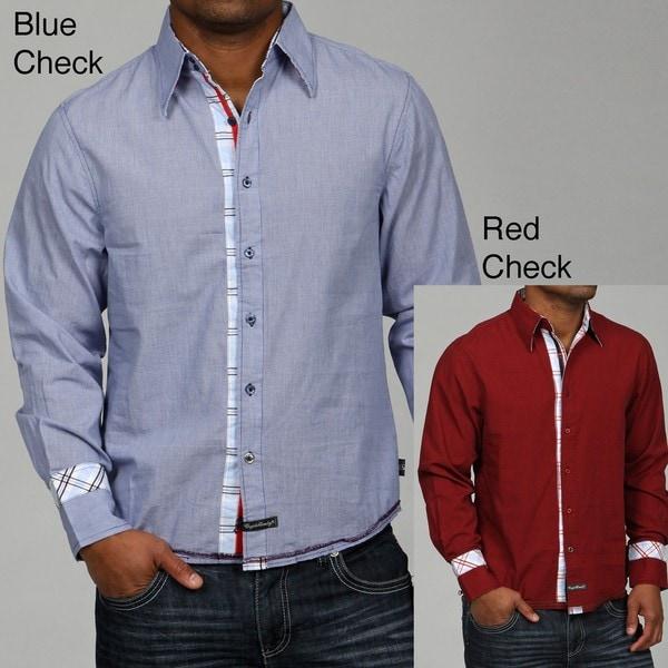 English Laundry Men's Mavis Woven Shirt