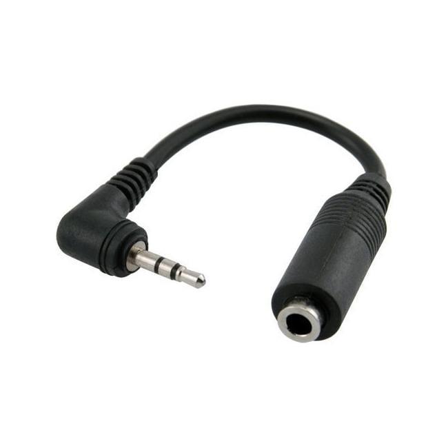 INSTEN Universal 2.5mm Male to 3.5mm Female Adapter