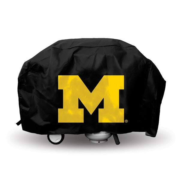 Michigan Wolverines Deluxe Grill Cover