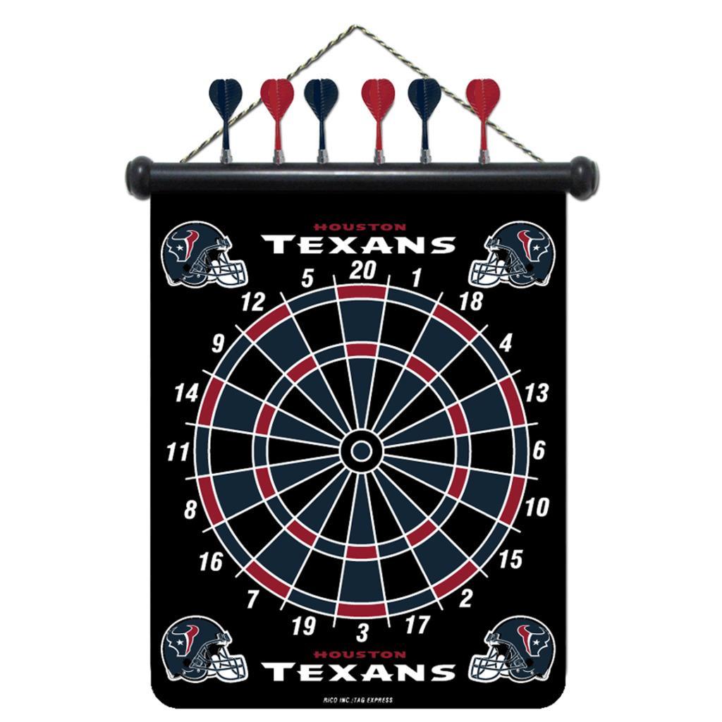 Houston Texans Magnetic Dart Board