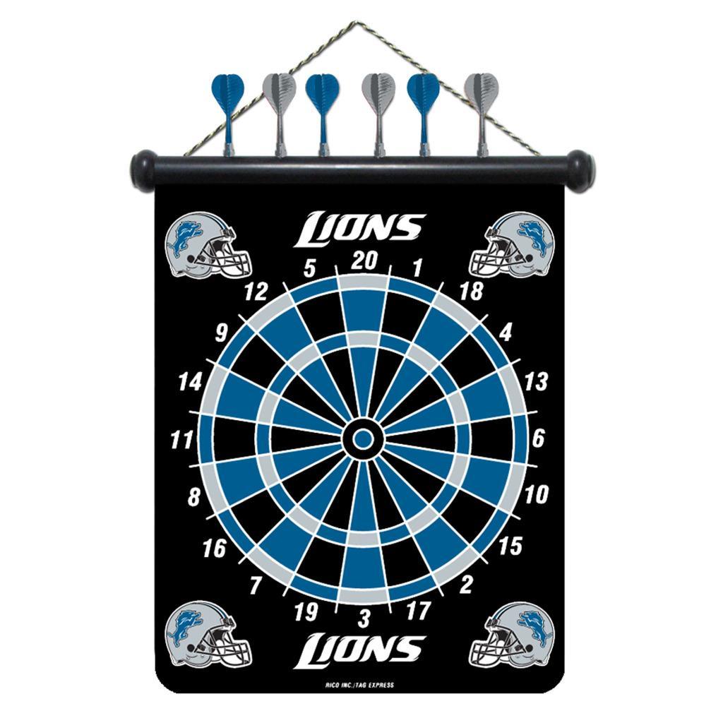 Detroit Lions Magnetic Dart Board - Thumbnail 1