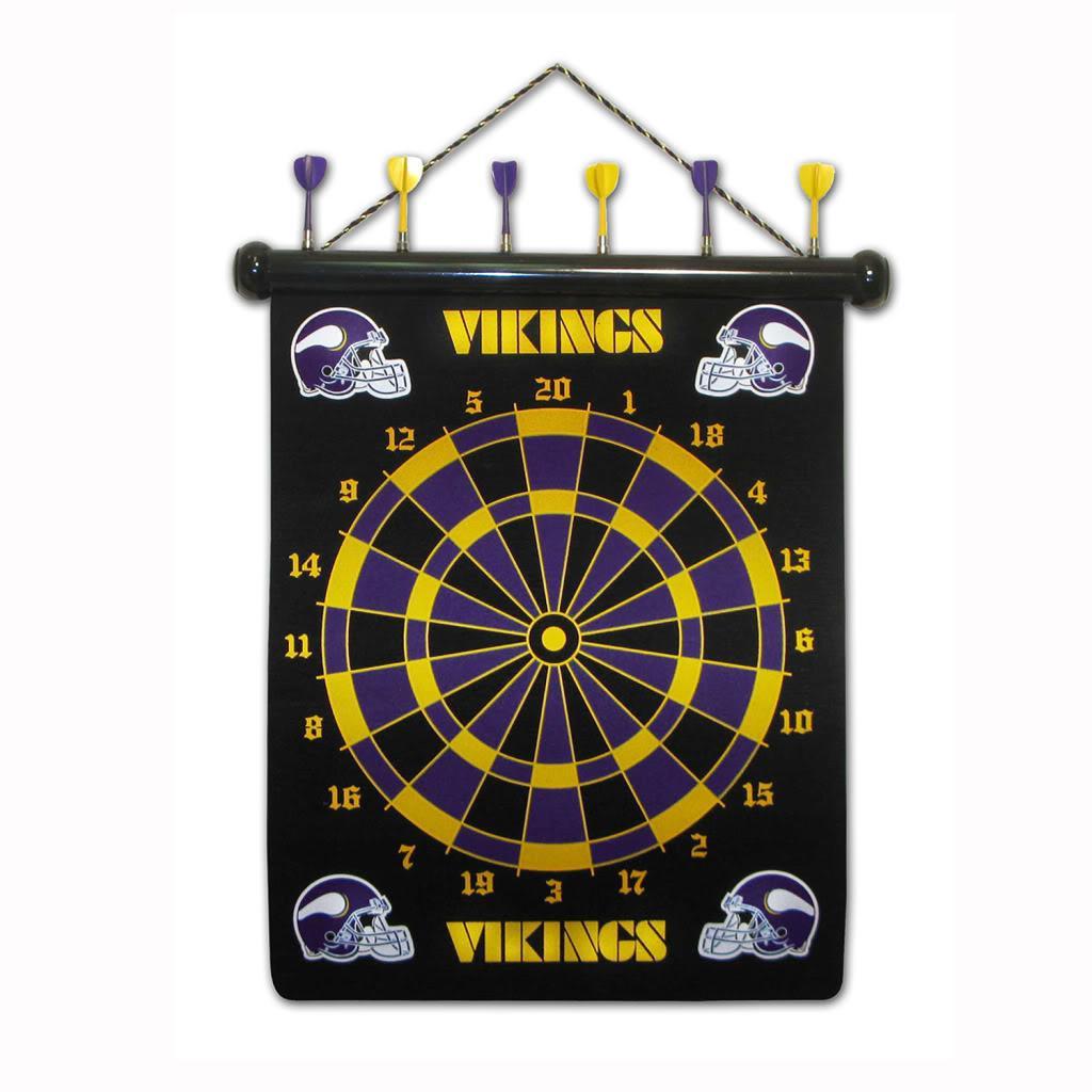Minnesota Vikings Magnetic Dart Board - Thumbnail 1