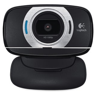 Logitech C615 Webcam - 2 Megapixel - 30 fps - Black - USB 2.0 - 1 Pac