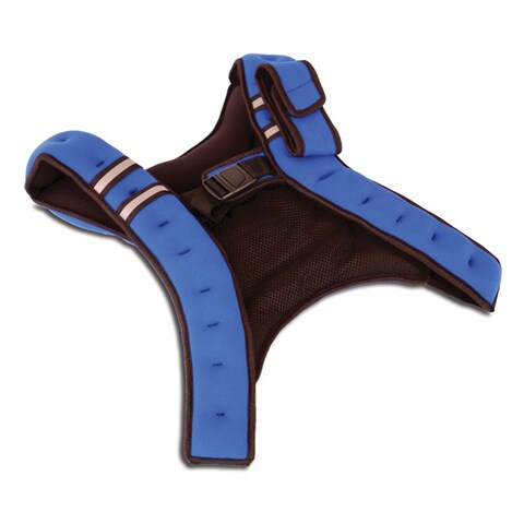 Tone Fitness 12 lb Weighted Vest - Blue