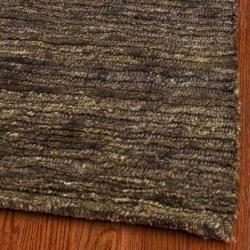 Safavieh Hand-knotted All-Natural Earth Brown Hemp Rug (6' x 9') - Thumbnail 1