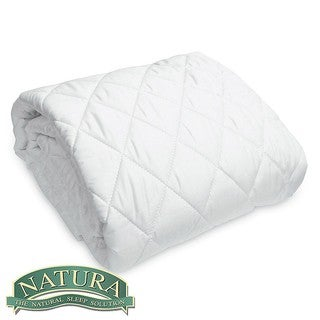 Natura Wash 'N Snuggle Queen/ King/ Cal King-size Wool-filled Mattress Pad