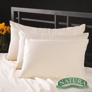 Natura Pure Virgin Wool-filled Pillow|https://ak1.ostkcdn.com/images/products/5968862/Natura-Pure-Virgin-Wool-filled-Pillow-with-230-TC-Cover-P13662493.jpg?impolicy=medium
