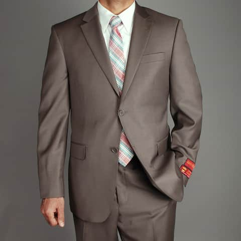Men's Wool 2-button Suit