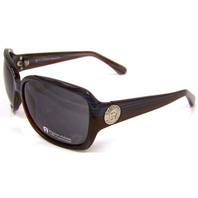 Etienne Aigner 'EA Dejavu' Havana Brown and Blue Sunglasses