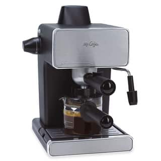 Mr. Coffee BVMC-ECM260 Steam Espresso and Cappuccino Maker|https://ak1.ostkcdn.com/images/products/5969559/P13662968.jpg?impolicy=medium