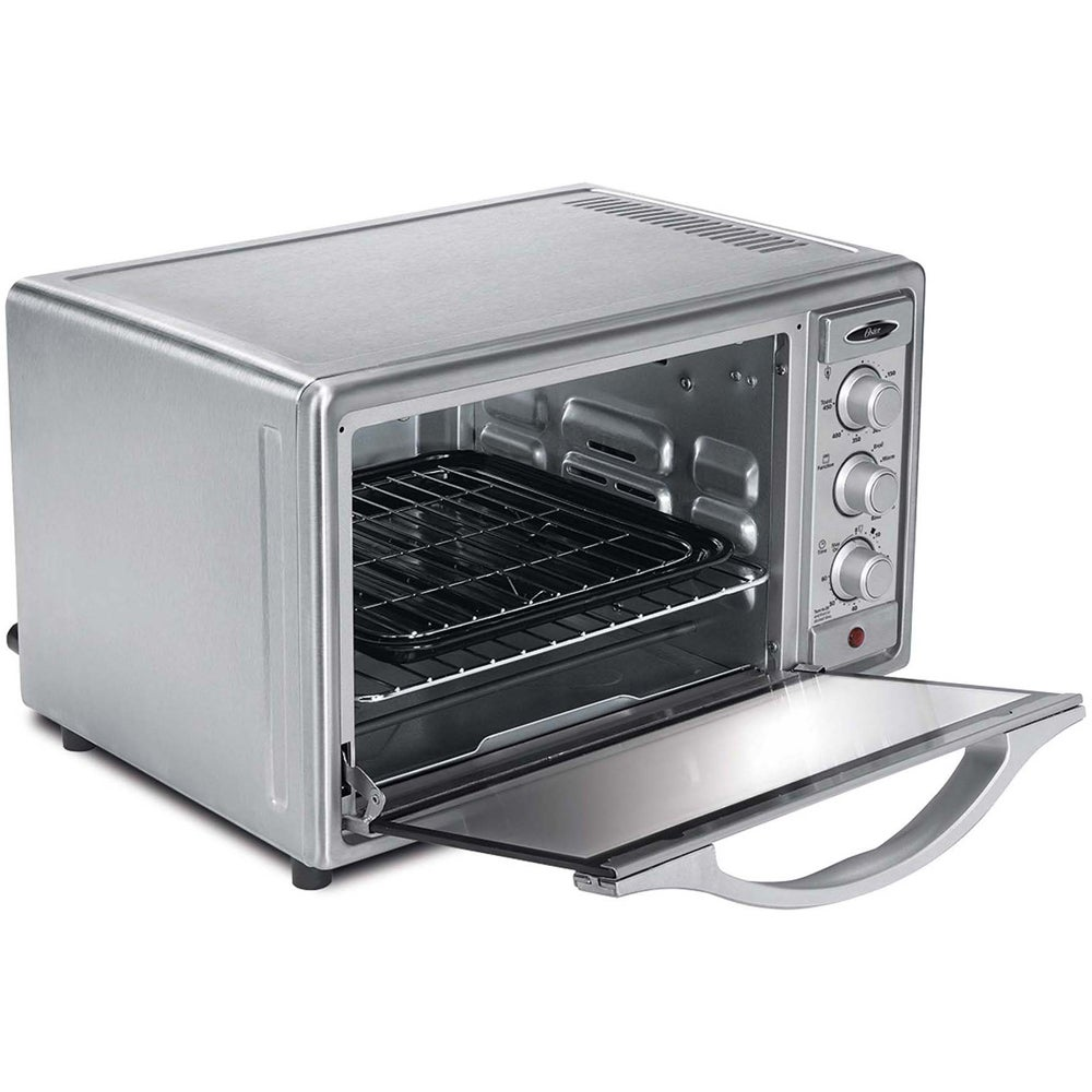 Oster Brushed Stainless Steel 6-slice Convection Toaster ...