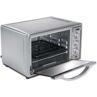 Oster Brushed Stainless Steel 6-slice Convection Toaster Oven