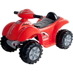 Lil' Rider Red Raptor Battery Operated Ride-on