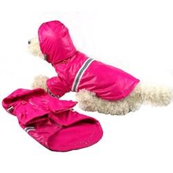 Pet Life Reflecta-sport Pet Dog Raincoat Rainbreaker
