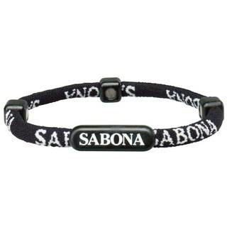 Sabona Black Athletic Bracelets (Pack of 2)