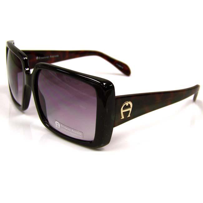 Etienne Aigner 'EA Giverny' Women's Black-Frame Fashion Sunglasses