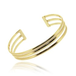 Mondevio Gold over Sterling Silver Bracelet